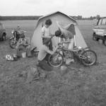 Belgium motorbike racers