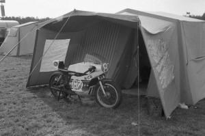 Belgian motorcycle club racer