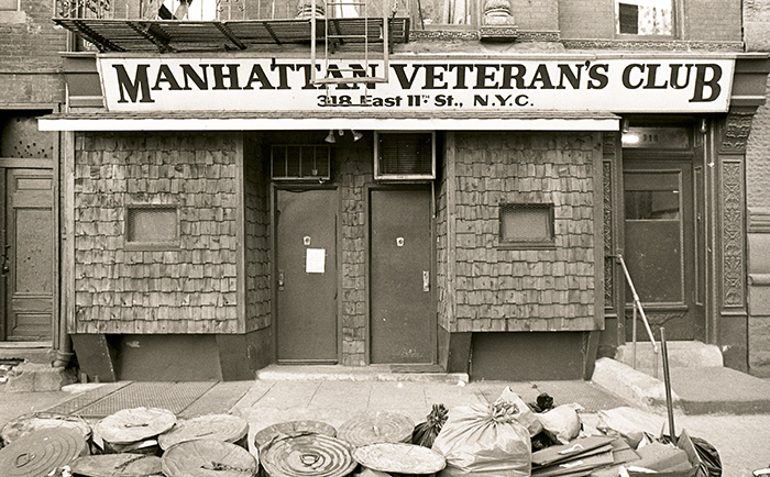 Manhattan Veterans Club, New York City