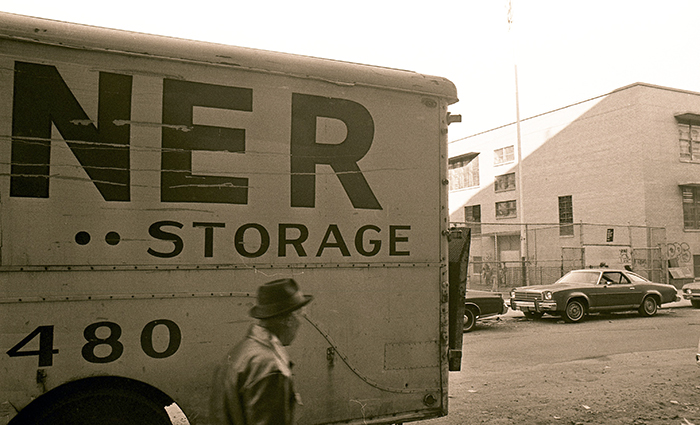 Wagner Moving & Storage van, New York City